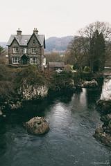 Pont-y-Pair (Roj) Tags: uk house rock wales river betwsycoed pontypair afonllugwy canon5dmkii photographersontumblr originalphotographers sourcerojsmithtumblrcom canonef24f28liiusm