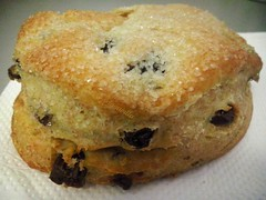Delicia! (mayavilla) Tags: comida pan pandulce azucar delicia cafecito pasas saboramxico