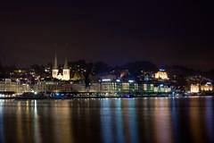 Lucerne / Luzern (Bjrn Medernach Fine Art) Tags: architecture night switzerland landscapes long time fineart lakes luzern lucerne exposures longtimeexposure