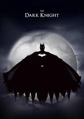 Batman - The Dark Knight (JasonWStanley) Tags: silhouette photoshop design batman dccomics brucewayne thedarkknight creativemondays