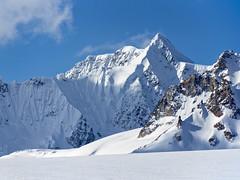 Glacier View (Lee Petersen) Tags: blue sky mountain snow alaska peak glacier alaskarange