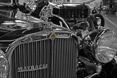 1938 Maybach (greg luengen) Tags: auto blackandwhite classic car automobile oldtimer schwarzweiss maybach