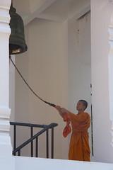Wat Chedi Luang (asitrac) Tags: travel thailand asia southeastasia monk buddhism belltower chiangmai wat siam buddhisttemple th buddhistmonk chiangmaiprovince theravada  saffronrobe watchediluang bhikkhus horakhang philosophyreligions