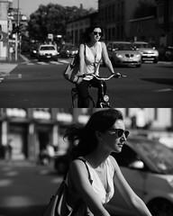 [La Mia Citt][Pedala] (Urca) Tags: portrait blackandwhite bw bike bicycle italia milano bn ciclista biancoenero mir bicicletta 2015 pedalare 7962 dittico nikondigitale ritrattostradale