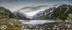 Lac Gaube (Jose Cantorna) Tags: lago agua nikon lac paisaje francia pirineo panormica gaube cauterets d610 congelado
