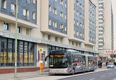 MAN Lions City S+U Alexanderplatz (Hannes Eisenach) Tags: city man bus berlin canon 5 fahrzeug txl bvg testbus lions 750d trer