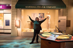 marshall field and company (timp37) Tags: chicago history field sign museum illinois nat marshall company nathalie february 2016