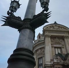Lamp Post Grandeur (trailrunner55) Tags: paris france streetlight phantom palaisgarnier academienationaledemusique parisopera