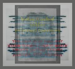 """Blocked! Mehr als ein Jahr vergangen! I asked for learning he does not find it worth the effort to answer """"Ich hab mich beworben Man bekommt nicht einmal eine Besttigung da man was hingeschickt hat geschweige denn eine Absage Es rhrt sich ka Ohrwaschl"""" (hedbavny) Tags: vienna wien blue red white selfportrait black rot public ink writing gold austria mirror design sketch sterreich mail spiegel diary indigo rorschach ornament letter transparent mailart weaver pause blau speech teach schrift rede weave tagebuch tinte schwarz learn tapestry ignore teppich selfie frage selbstportrt lernen tapisserie graphology entwurf handschrift weis minarette skizze kokon weben ffentlich graphologie ignorieren fermate paperpattern lehren schnittmuster blutrot iging schriftbild schaubild tintenklecks offenerbrief abklatsch musterbogen teppichweber hedbavny ingridhedbavny klecksographie grafologie"""