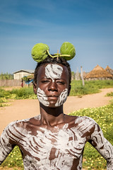 Karo Tribe, South Omo, Ethiopia (kiwi vic) Tags: travel culture tribal omovalley ethiopia tribe karo instatravel