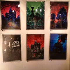Daniel Danger's work is always infused with a dark mystique... we think they look great hung as a set. Come down to Thomas St and take a look! #illustration #art #print #dark #gothic #danieldanger (richard goodall gallery) Tags: art look st set illustration work dark print is with thomas daniel think great gothic down we come take always they mystique hung infused dangers danieldanger