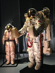 Space suits (Inkysloth) Tags: london industry museum technology space astronaut science cosmos sciencemuseum cosmonaut spacescience