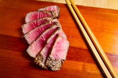 Homemade Peppered Tuna (sheryip) Tags: food sushi foodporn homemade tuna ahi peppered