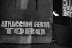 El torito (Mathas Brea) Tags: blancoynegro fiesta social letras atraccion