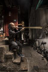 Dana Leong in Shanghai (SalvaMendez) Tags: china musician music shanghai dana cello trombone horn leong
