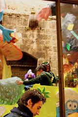 18 (EricaFaini) Tags: life carnival italy streetart café real photography san gimignano medieval tuscany sacred siena