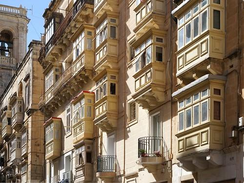 Les balcons de la Valette (Malte)