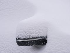 Snow Sculpture (Light Collector) Tags: winter sculpture snow soft artistic outdoor automotive mothernature