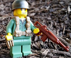 BrickArms US Scout WW2 Vest (BrickArms) Tags: soldier us lego scout ww2 vest minifigure brickarms