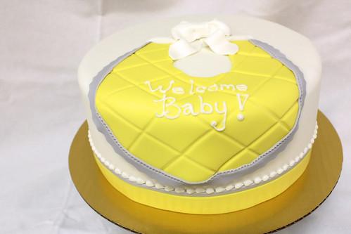 Baby Bib Designer Cake