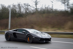 Stealthventador (MJParker1804) Tags: orange motion black speed driving stealth lamborghini nero supercar tracking calipers aventador lp7004