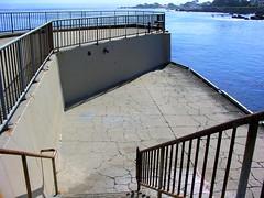 The Cement Pier (Joe Lach) Tags: water stairs pier monterey lovers pacificocean pacificgrove loverspoint montereypeninsula loverspointbeach waterpictorial cementpier joelach