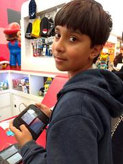 Nico (Ian Muttoo) Tags: ontario canada nintendo gimp mississauga erinmillstowncentre 2ds nintendo2ds pokemon20 20160227151858edit
