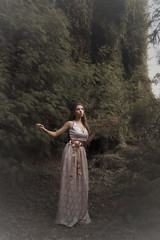 (Tc photography.Perú) Tags: pink flowers light plants nature girl beauty fashion female fairytale forest canon model soft dress natural outdoor dream young atmosphere naturallight story teen fairy fantasy romantic delicate fashionphoto fashionphotographer tcphotography fantasyshoot