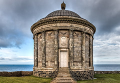 Mussenden Temple (CdL Creative) Tags: canon geotagged eos unitedkingdom downhill gb northernireland nationaltrust hdr castlerock ulster demesne mussendentemple 70d colondonderry cdlcreative geo:lat=551676 geo:lon=68108