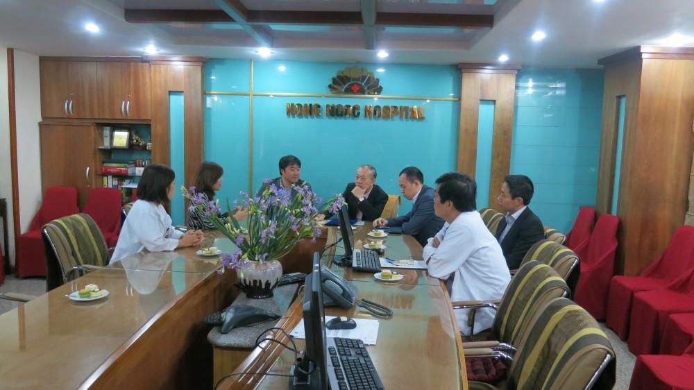 BV Hồng Ngọc mở rộng hợp tác y tế với Ngân hàng thương mại TP Bank
