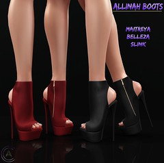 [CA] Allinah Boots (TrippyLez Resident) Tags: original mesh 5 secondlife whore couture exclusive wcf5 coldambitionz