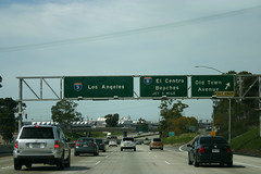 I-5 North: Old Town Ave Exit, I-8 (formulanone) Tags: california i5 sandiego interstate5