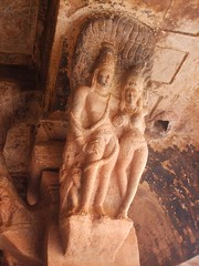 Vishnu and Lakshmi (Voyou Desoeuvre) Tags: india places badami