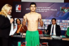 Week 8 Group B Weigh In Morocco Atlas Lions vs Mexico Guerreros (World Series Boxing) Tags: b mexico group 8 morocco lions atlas week vs weigh in guerreros