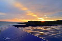 #sun #sunset #beach #sky #elsalvadorimpresionante (EVKARY) Tags: sunset sky sun beach elsalvadorimpresionante nikond5100