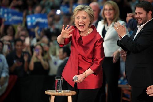 Hillary Clinton, Gabrielle Giffords & Ru by Gage Skidmore, on Flickr