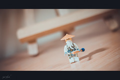 Lego....... (photographer freelancer) Tags: face vintage toy alone lego vietnam legohero