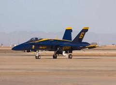 163455 | Blue Angels | McDonnell Douglas F/A-18C Hornet | NJK (max_LH_450) Tags: california blue plane airplane us aircraft c air centro navy el airshow angels f 18 facility naval usn naf fa