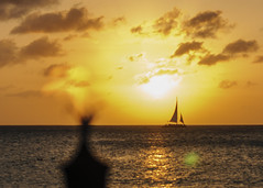 Sunsets (3 of 3) (iJeffG) Tags: travel sunset vacation nature aruba caribbean passions 2013