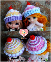 Cupcake hats comission