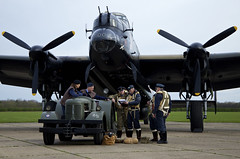 'Dispersal' (andrew_@oxford) Tags: heritage force aviation air events royal lincolnshire east 1940s lancaster timeline bomber command reenactors raf dispersal avro kirkby