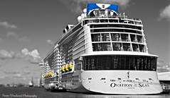 Ovation of the Seas (Simon Woodward Photography) Tags: uk cruise sea england water artistic outdoor ships hampshire southampton liners