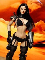 Alien/Robot Huntress (Patman1313) Tags: actionfigure 16 seamless 16scale sixthscale 6thscale phicen seamlessbody