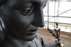 Big nose (Matt From London) Tags: sculpture face statue angel nose quadriga constitutionarch wellingtonarch hydeparkcorner adrianjones