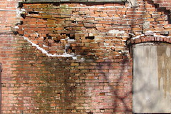 Old Toledo Buildings 4-9-2016 (kevmm3) Tags: old ohio building brick college wall collingwood mary arts center structure toledo crumbling manse