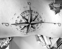Rosa dos Ventos (Marco Miranda Tattoo) Tags: geometria trao pontilhismo