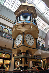 Aus843 - Great Australian Clock, Queen Victoria Building (Donna's View) Tags: clock nikon sydney australia queenvictoriabuilding d60 greataustralianclock