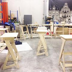 New delivery coming in  #jaswig... (jaswigstandup) Tags: design healthy health production local plywood standingdesk healthyliving ergonomicfurniture uploaded:by=flickstagram instagram:photo=11675787735813612181744266691 jaswig standingrevolution