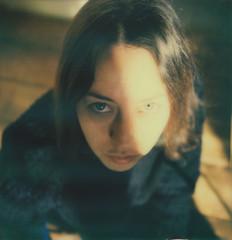 (Leanne Surfleet) Tags: selfportrait colour film polaroid sx70 expired impossibleproject leannesurfleet