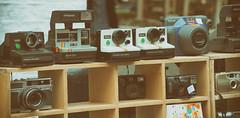 Days gone by (cuppyuppycake) Tags: camera film vintage polaroid soft fuji outdoor retro collection land